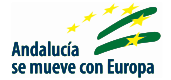Icon of andalucía moves with Europa