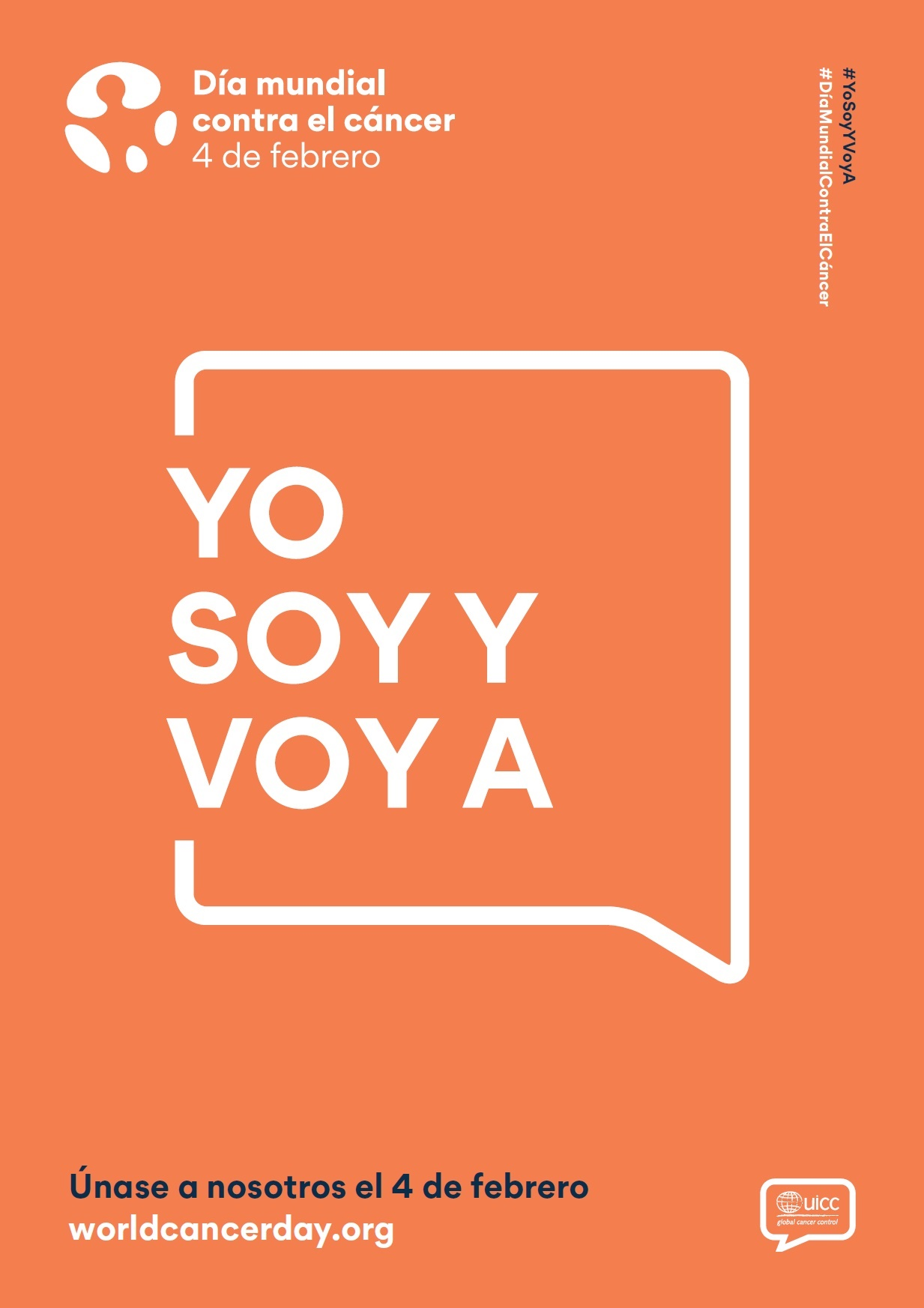 Yo Soy Y Voy A Lema Del Dia Mundial Contra El Cancer 2020 En Buena Edad